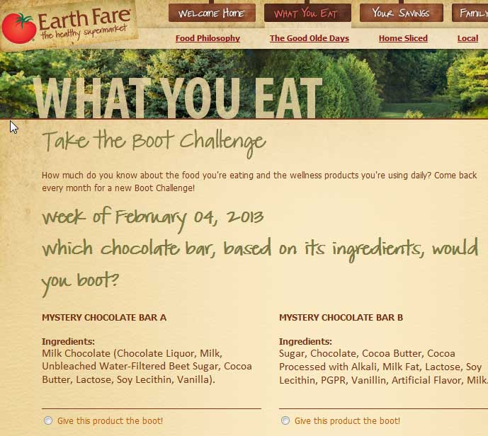 earth-fare